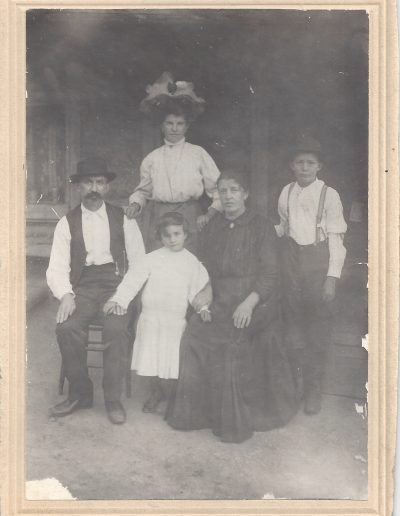 Family of Joseph and Catherine Eccher