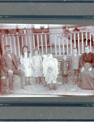 1913 Bendetti family